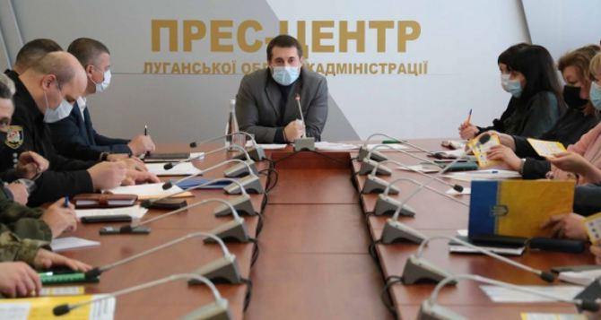 Режим чрезвычайной ситуации ввели в Луганской области