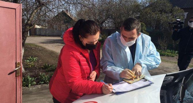 Социально незащищенные семьи в Славянске получают помощь