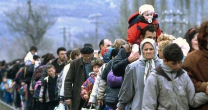 Где на Донбассе больше всего зарегистрировано переселенцев