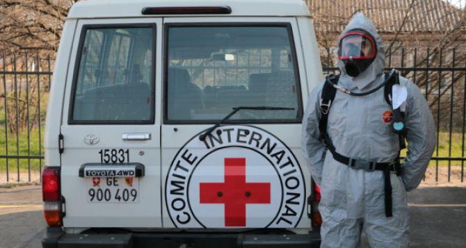 Красный Крест передал спасателям в Донецкой области новое оборудование