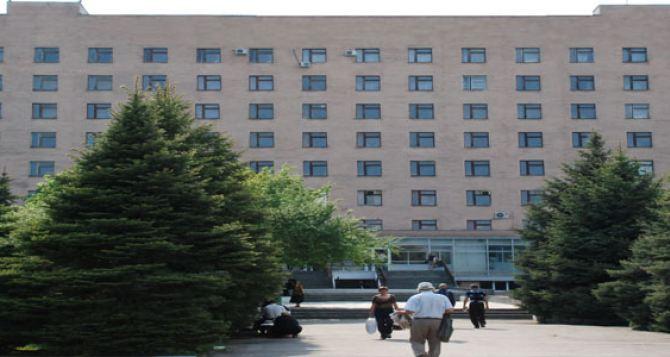 Главврач луганской клинической больницы (Острая Могила), рассказал правду о том, что происходит в больнице