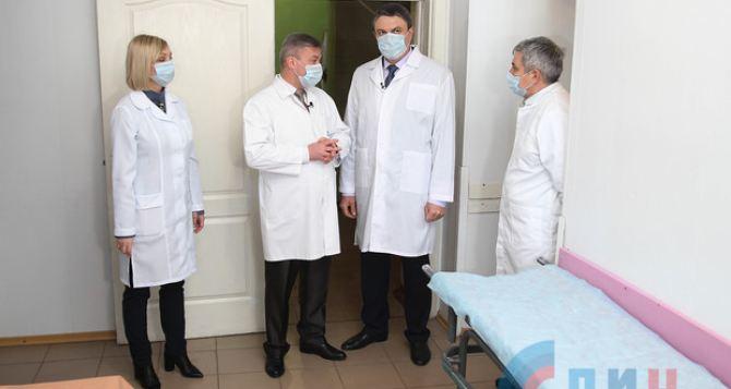 В Луганске заявили, что под наблюдением из-за коронавируса находится более чем 600 человек