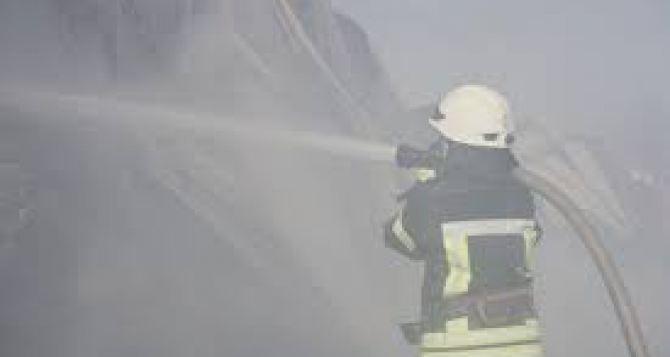В Луганске МЧС с сегодняшнего дня объявило высокий уровень пожароопасности
