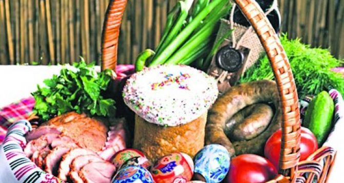 Сколько будет стоить пасхальная корзинка в Донецкой и Луганской областях