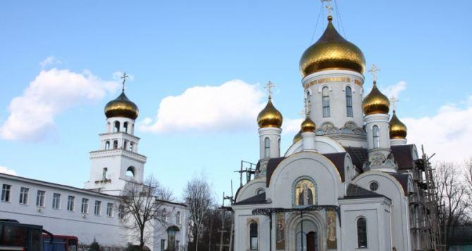 Пожар в Свято— Успенском мужском монастыре в Одессе