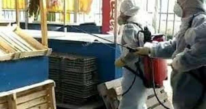 Рынки и супермаркеты Луганска будут по очереди закрывать для дезинфекции