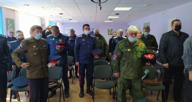 В Луганске в борьбу с коронавирусом вступили казаки Всевеликого Войска Донского
