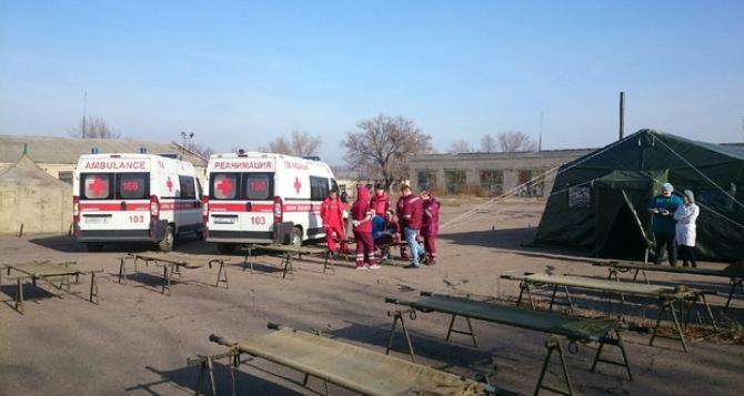 Луганские медики будут оказывать помощь в штатном режиме, не смотря на проведение тренировок силГО