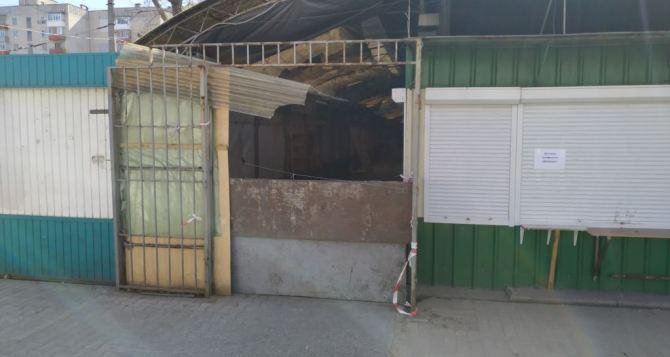 В Луганской области полиция и чиновники не дали открыться ни одному рынку
