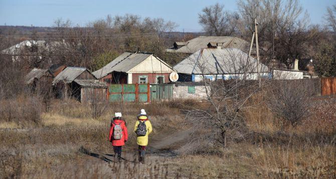 В результате обстрела Золотое-5 ранена семилетняя девочка