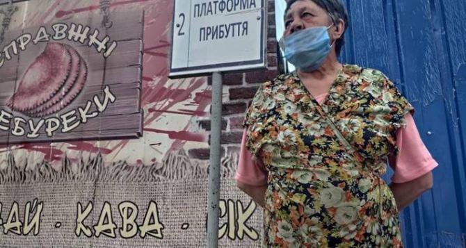 У КПВВ Станица Луганская больше месяца живут люди, застрявшие из-за карантина