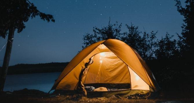 Подготовка к летнему отдыху с палатками