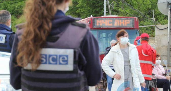 В Луганске заявили, что выезд граждан на территорию Украины— свободный