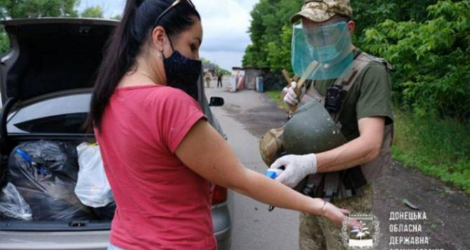В Донецкой области открыли КПВВ «Новотроицкое»