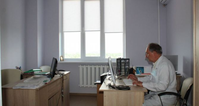 В Луганской области открыли обновленное терапевтическое отделение
