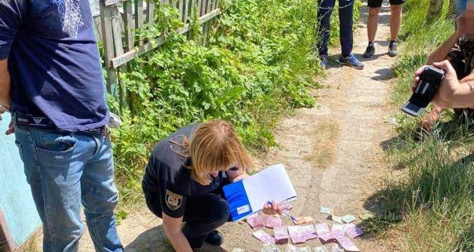 В Луганской области задержан рэкетир. ФОТО
