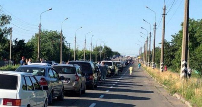 Ситуация на КПВВ «Еленовка»: очередь расписана на 3 дня вперед