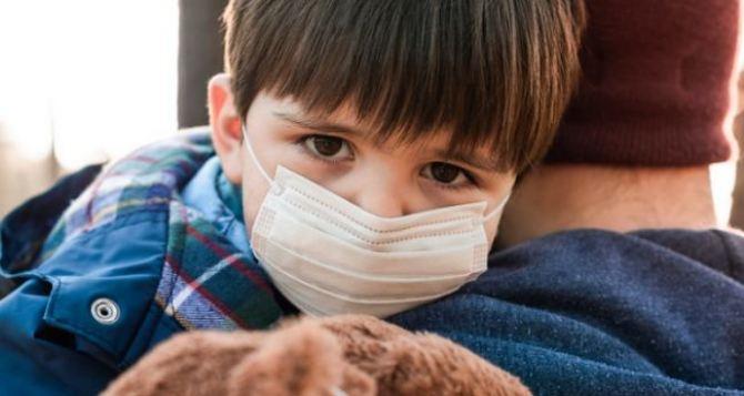 В Луганской области инфицировано семеро детей до 17 лет