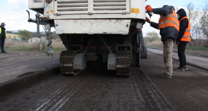 Завершение ремонта автодороги между Северодонецком и Станицей Лугансой запланировано на 15июля