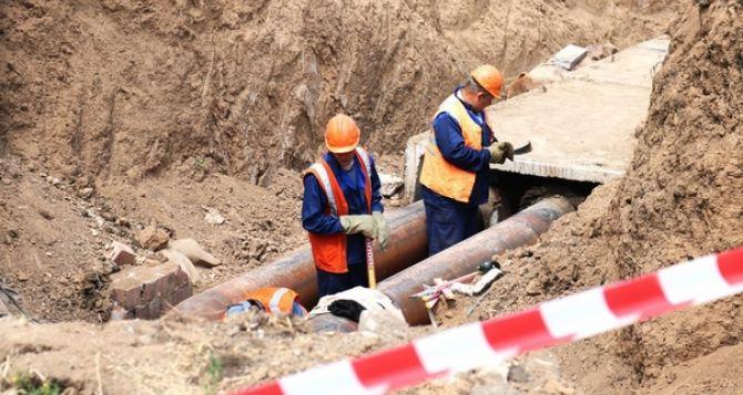 В Луганске будет выполнен комплекс работ по замене аварийных участков теплосети