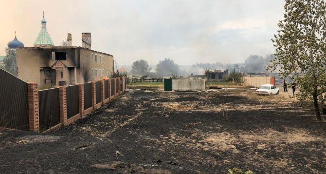 В Луганской области масштабные лесные пожары. Эвакуируют населенные пункты, есть погибшие, локализовать огонь не удается. ФОТО. ВИДЕО