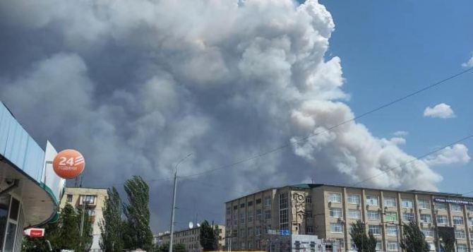 Лесные пожары на подступах к Северодонецку. Есть информация о четверых погибших. ФОТО.