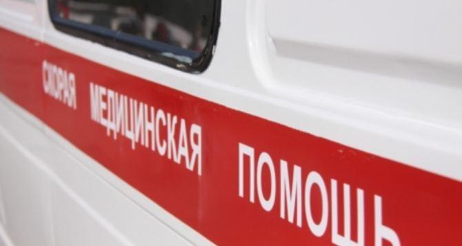 В Луганске на улице сработало неустановленное взрывное устройство. Есть пострадавшие
