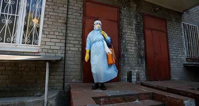 Сразу в пяти районах Луганской области зафиксированы новые случаи заболевания COVID-19