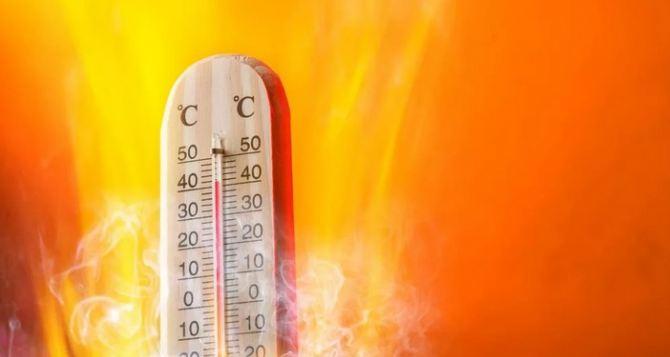 По Украине самая высокая температура в августе ожидается в Луганской области