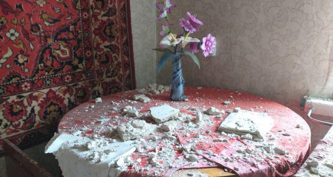 В Северодонецке обрушился потолок в жилом многоквартирном доме