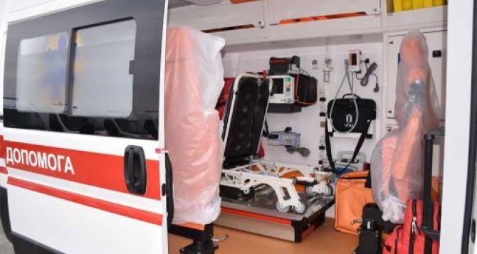 На КПВВ «Станица Луганская» появится реанимационный модуль и новый автомобиль «Скорой помощи»