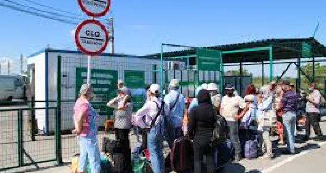 Новый порядок перемещения вещей через КПВВ на Донбассе