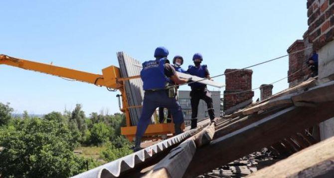 Более половины разрушенных войной домов удалось восстановить в Донецкой области