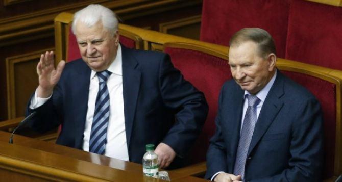 Кравчук согласился возглавить украинскую делегацию на Минских переговорах