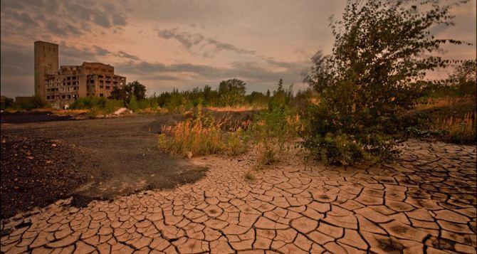 Атмосферная засуха началась в центральной части Луганщины