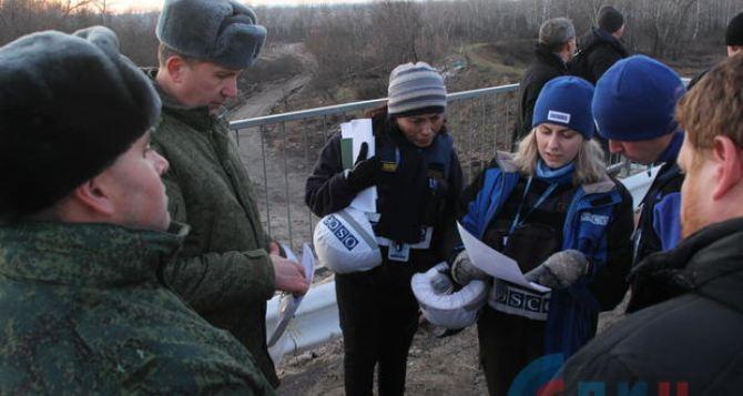 Наблюдатели ОБСЕ зафиксировали 93 нарушения режима прекращения огня в Луганской области