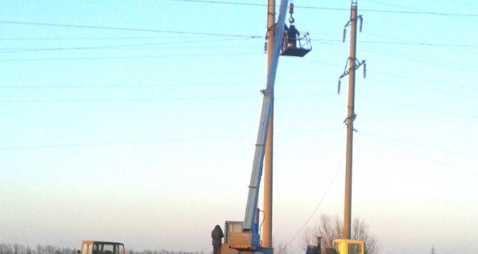 В Жовтневом районе отключили свет в связи с ремонтом ЛЭП