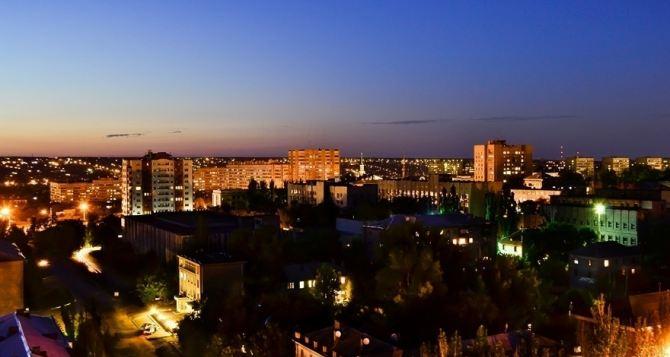 На улицах Луганска в течении каждого месяца появляется не менее 90 новых светильников