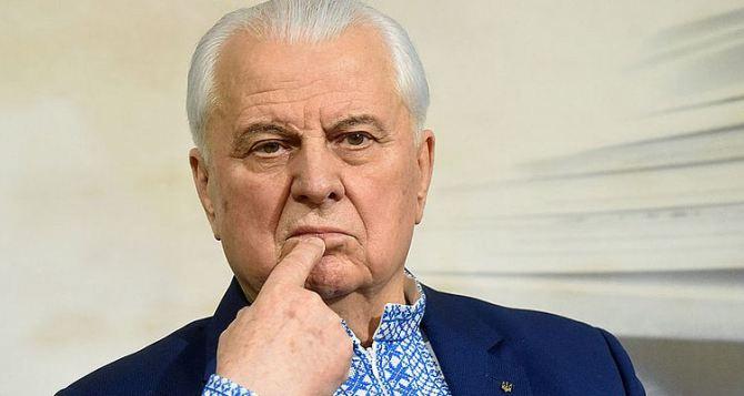 Кравчук заявил, что ядерные страны должны Украине восстановить Донбасс
