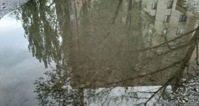 В Луганске сегодня днем до 28 градусов тепла, кратковременный дождь и гроза