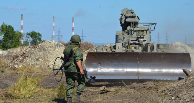 Строительные работы на КПВВ «Луганск— Счастье» идут по графику
