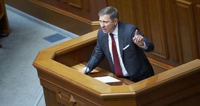 Народный депутат потребовал снять с должности луганского губернатора Сергея Гайдая