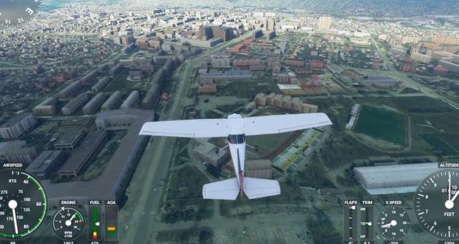 Как увидеть Луганск с высоты птичьего полета. Это может каждый желающий. ВИДЕО