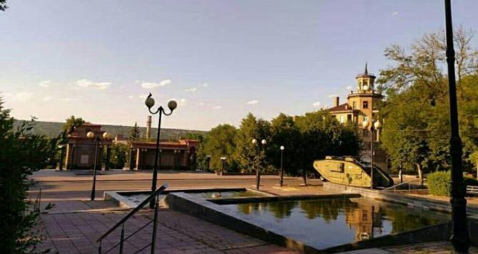 В Луганске 26августа до 32 градусов жары, без осадков