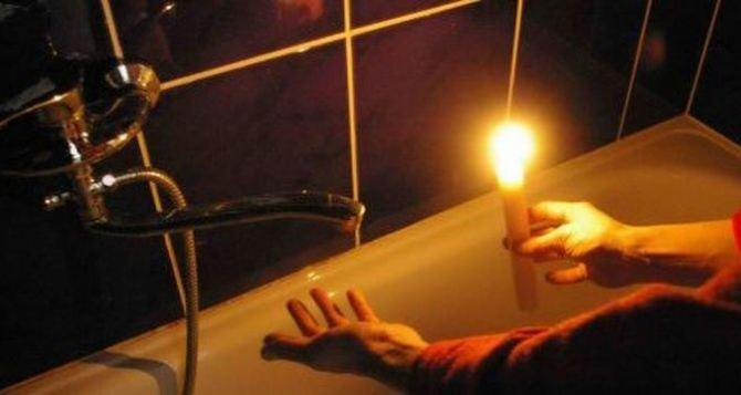 31августа Сватово частично оставят без света, а 1сентября— полностью без воды