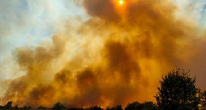 Зеленский внимательно следит за ситуацией с пожарами в Луганской и Харьковской областях