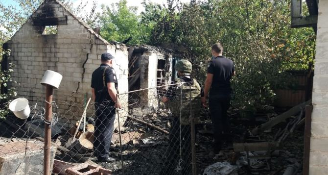 Житель Луганской области пытался покончить жизнь самоубийством с помощью гранаты