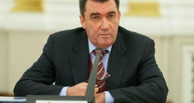 Киев имеет пять вариантов деоккупации Донбасса— секретарь СНБО Алексей Данилов
