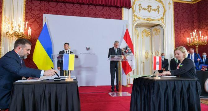 В Австрии подписали Соглашение о сотрудничестве в области поддержки детей и семей Луганщины