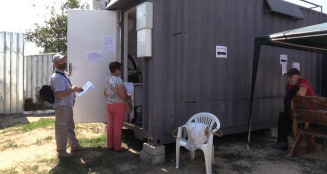 Срок получения результатов ПЦР-тестов на КПВВ «Станица Луганская» сократился с 48 до 12 часов